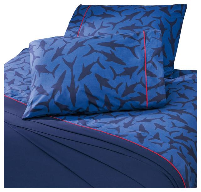 Bed Sheet Shark Bed Sheets Set - Kids Bedding