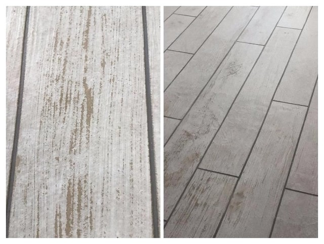 Old Barn Wood Plank Floor Rustic Cleveland By