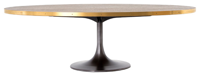 Hughes Evans 60 Quot Round Dining Table Industrial Dining