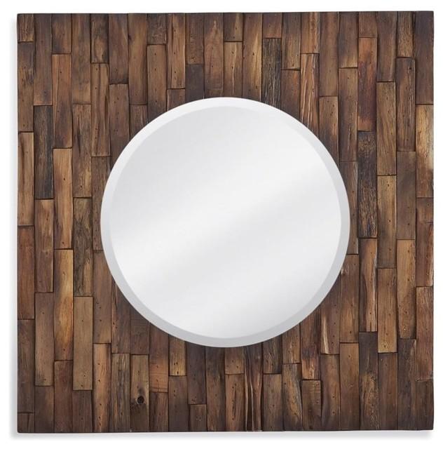 Stupendous Hudson Wall Mirror Distressed Wood Finish Uwap Interior Chair Design Uwaporg