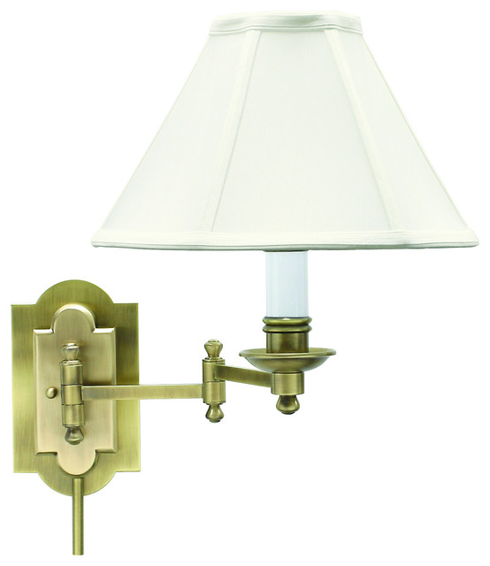 Shop Houzz House of Troy Wall Swing Lamp - Swing Arm Wall Lamps