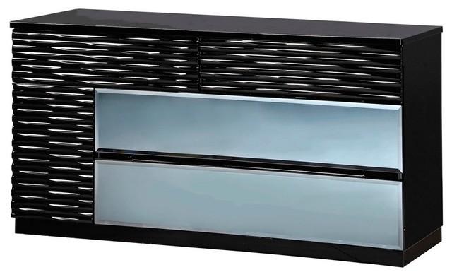 Global Furniture Dresser Black.