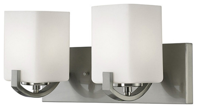 Canarm Palmer 2-LT Vanity Light IVL422A02BN, Brushed Nickel