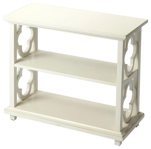 Butler Paloma Cottage White Bookcase