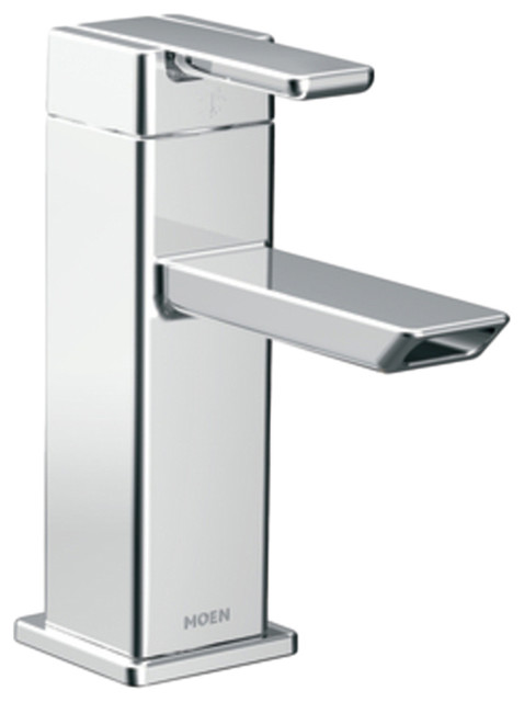 Moen 6700 90 Degree Bathroom Faucet Chrome modern-bathroom-sink-faucets