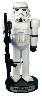 "11"" Star Wars Stormtrooper Nutcracker"