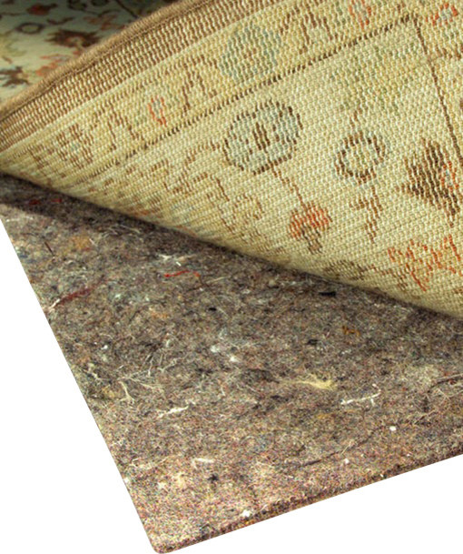 no muv non slip rug pad for rug on carpet contemporary rug pads by rug pad corner. Black Bedroom Furniture Sets. Home Design Ideas