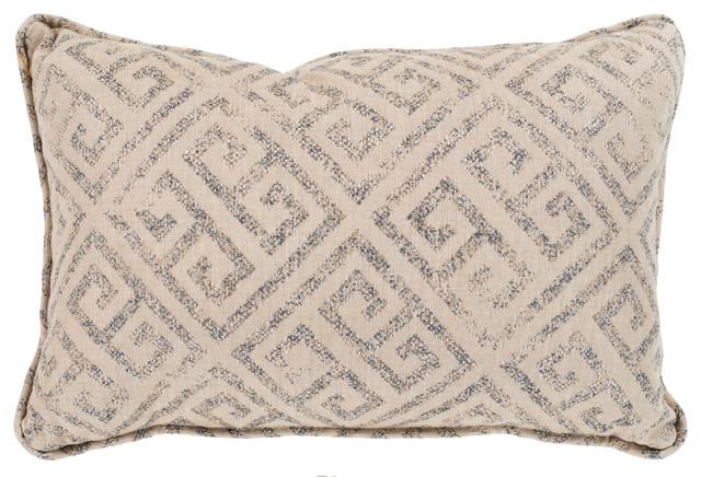 Surya Geonna 13x19x0.25 Off-White Pillow Cover.