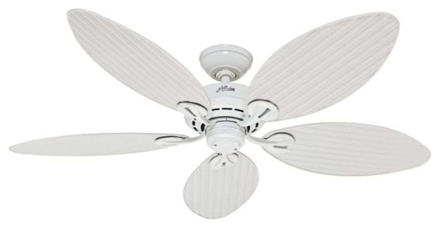 Most popular tropical ceiling fans for 2018 houzz hunter fan company hunter bayview 54 energy 5 blade star outdoor ceiling fan aloadofball Gallery