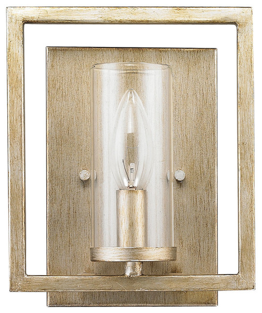 Marco Wall Sconce, Gunmetal Bronze - Transitional - Wall Sconces - by Golden Lighting