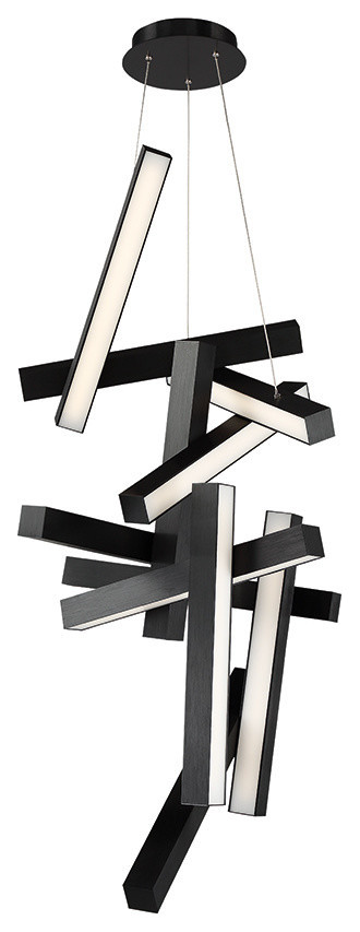 Chaos Led Round Chandelier 3000k Modern Pendant Lighting By Modern Forms