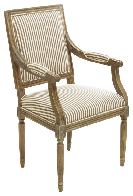 Traditional Dining Chairs martin armchair, dark coffee - traditional - dining chairs -