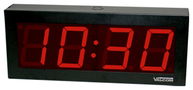 IP POE 4 Digital Clock Contemporary Wall Clocks
