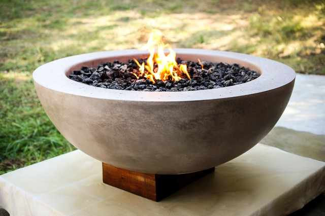 Fire BowlContemporaryFire PitsSeattleby Concrete Habitat