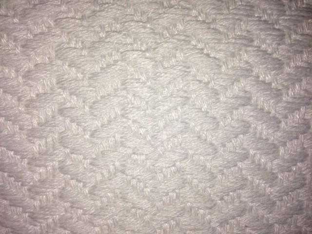 Bonjour Pattern Black White Area Rug, 72.5x52.5.