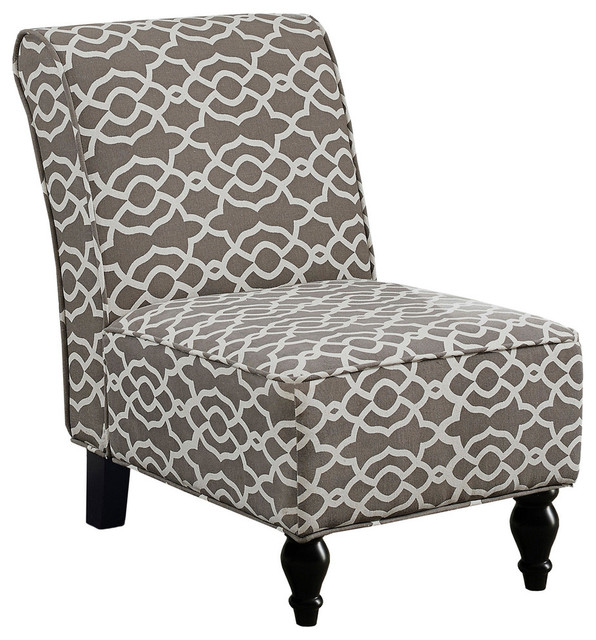 Shop Houzz Monarch Specialties Accent Chair Brown Quot Bell