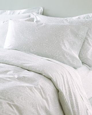 mums hemstitched supima cotton percale sheets king pillowcases aqua mist