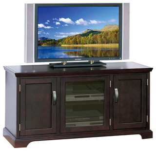 """50"""" TV Stand Cabinet in Chocolate Cherry - 81350"""