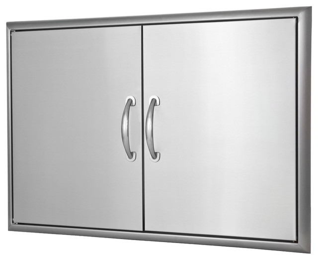 "Double Access Door, 20.375"" X 30.875""."