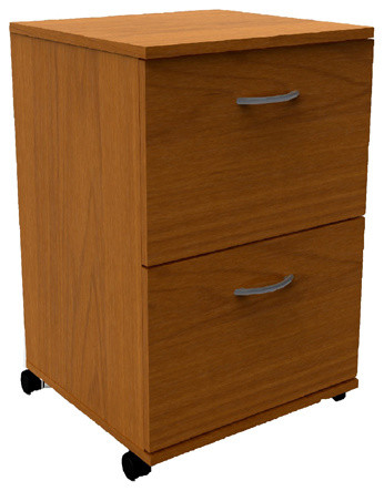 Essentials 2-Drawer Mobile Filing Cabinet 6093 from Nexera - Contemporary - Filing Cabinets - by ...