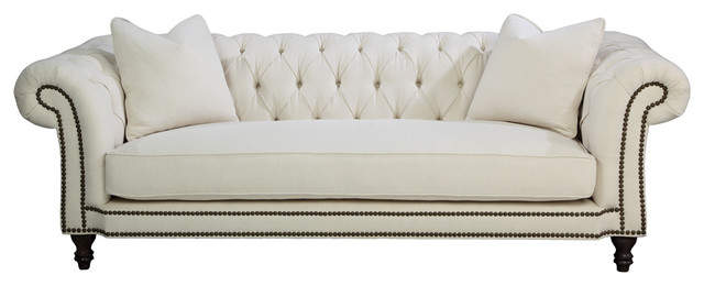 regis sofa transitional sofas by your space furniture custom