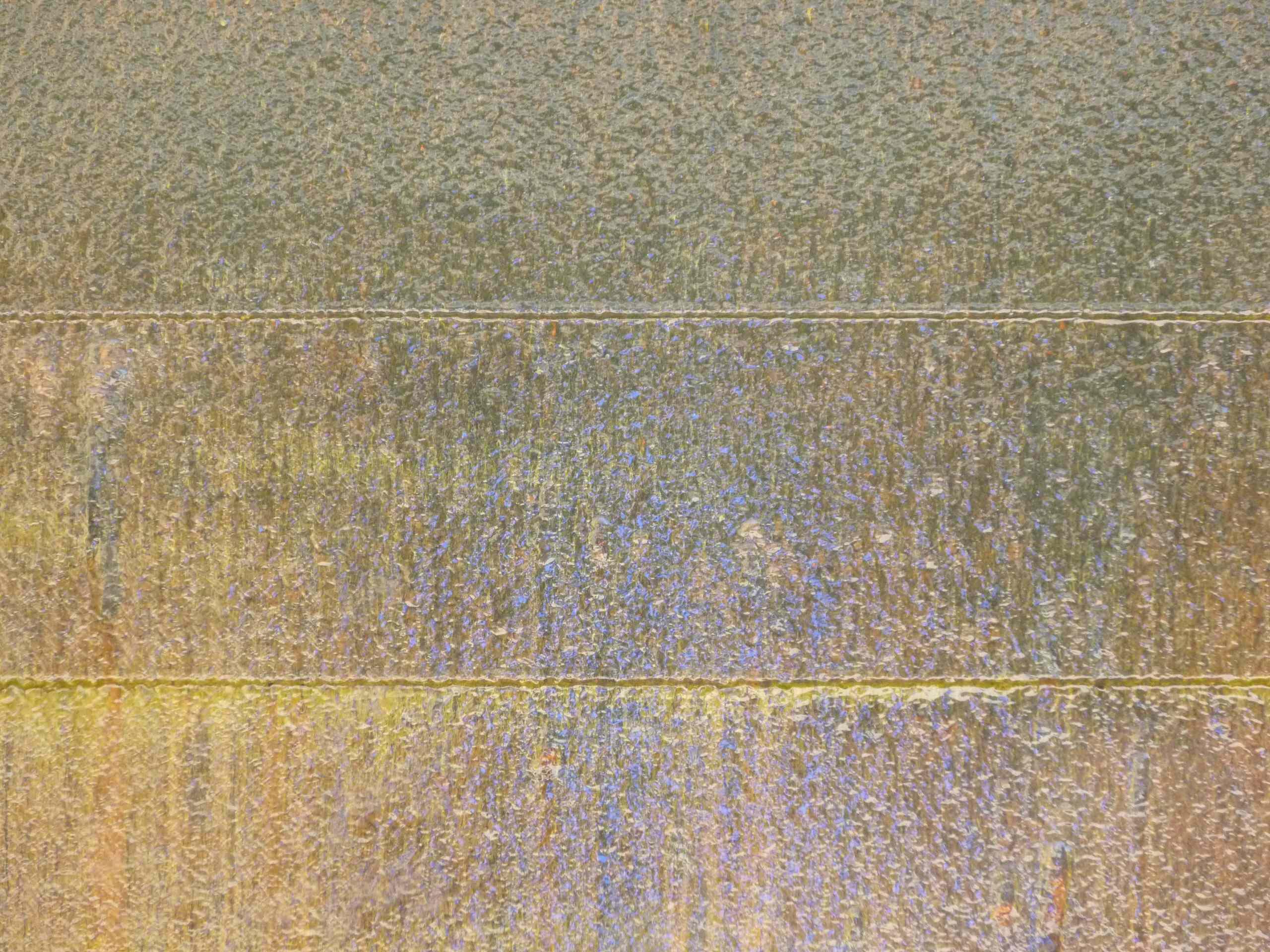 Corten Steel Water Feature Patina - 2 Years