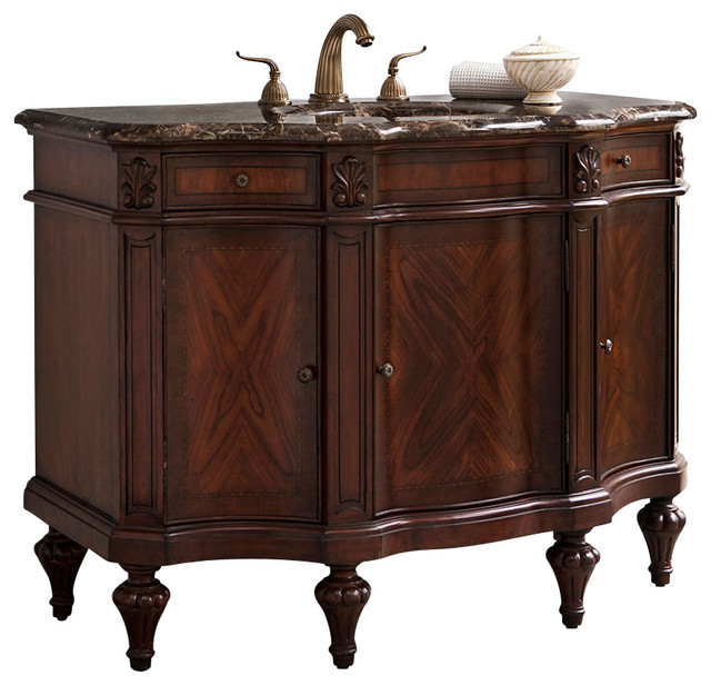 Ambella Home Collection Empire Sink Chest  Traditional Bathroom Vanities And Sink