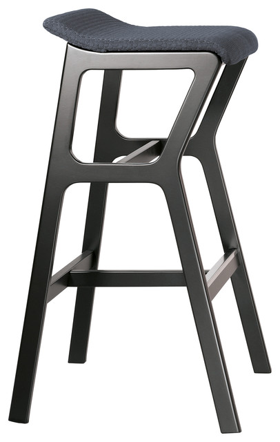 Nhino Bar Stool With Bubble Upholstery, Small