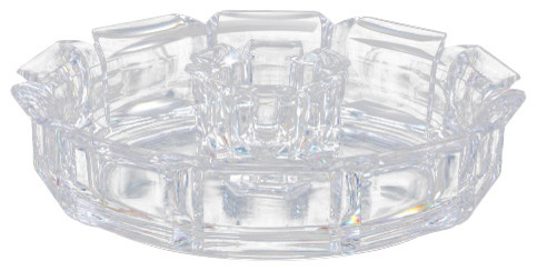 Regal Crystalline Acrylic Chips And Dip Tray.