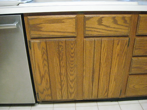 Need Help On Updating Oak Cabinets