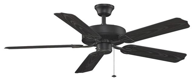 Fanimation Fans Bp230bl1 Indoor Ceiling Fans Black Aire Decor Black.