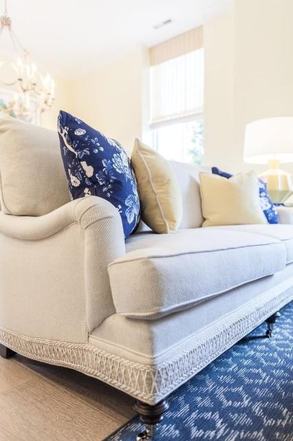 Home design - transitional home design idea in Baltimore