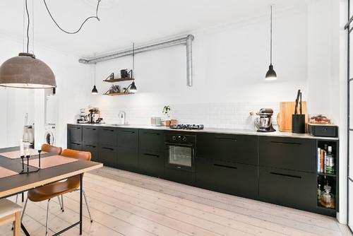 Le Case di Houzz: Acciaio e Vetro in un Appartamento Danese - Life ...
