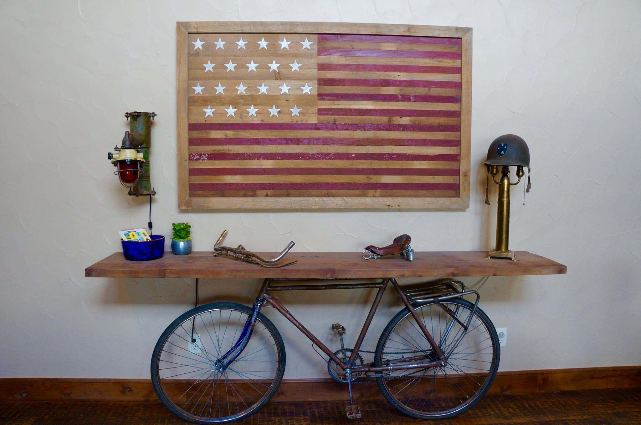 Bicycle console, living area