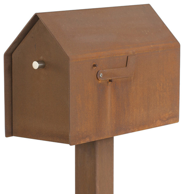 walden mailbox contemporary mailboxes by bold mfg. Black Bedroom Furniture Sets. Home Design Ideas