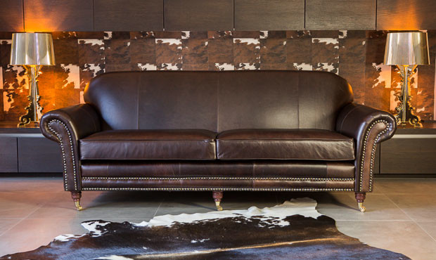 Chelsea Leather Sofa Traditional Sofas
