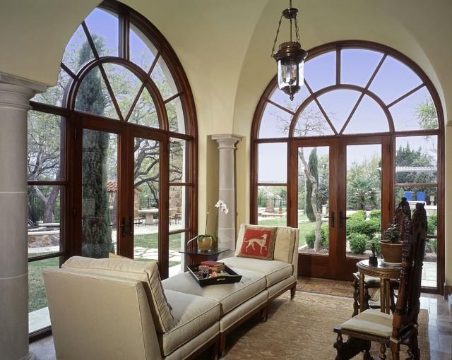 Barton Creek Italian Villa Sitting Area Mediterranean