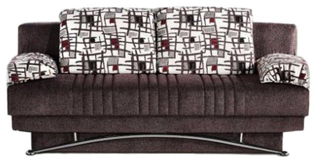Fantasy Sofa Sleeper, Aristo Burgundy.