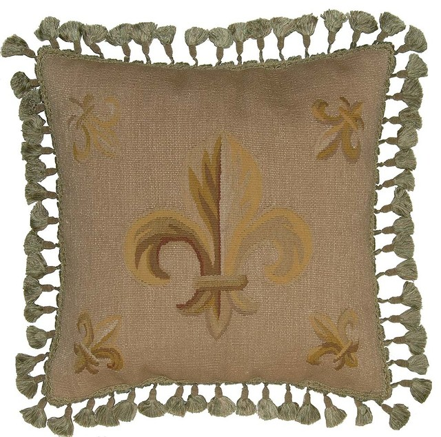 Aubusson Regal Fleur De Lis Pillow