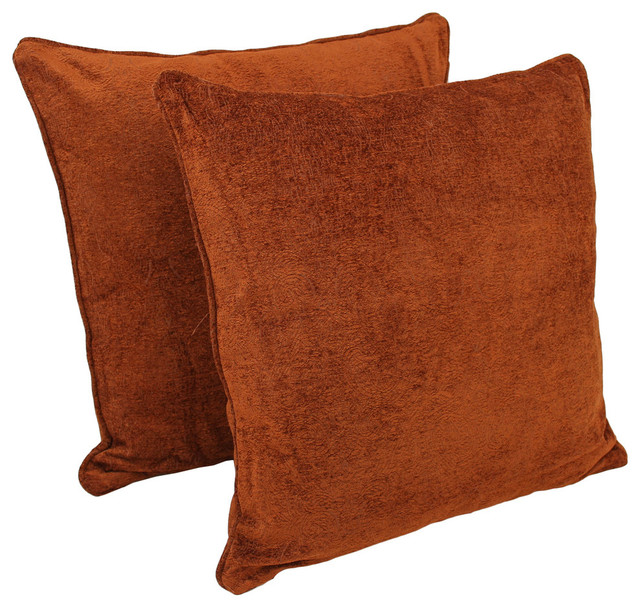 25IN Jacquard Chenille Square Floor Pillows - Floor Pillows And Poufs - by Blazing Needles