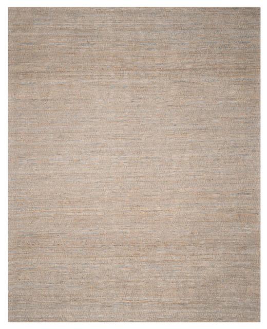 Elle Hand Woven Rug, Gray/sand, 9&x27;x12&x27;.