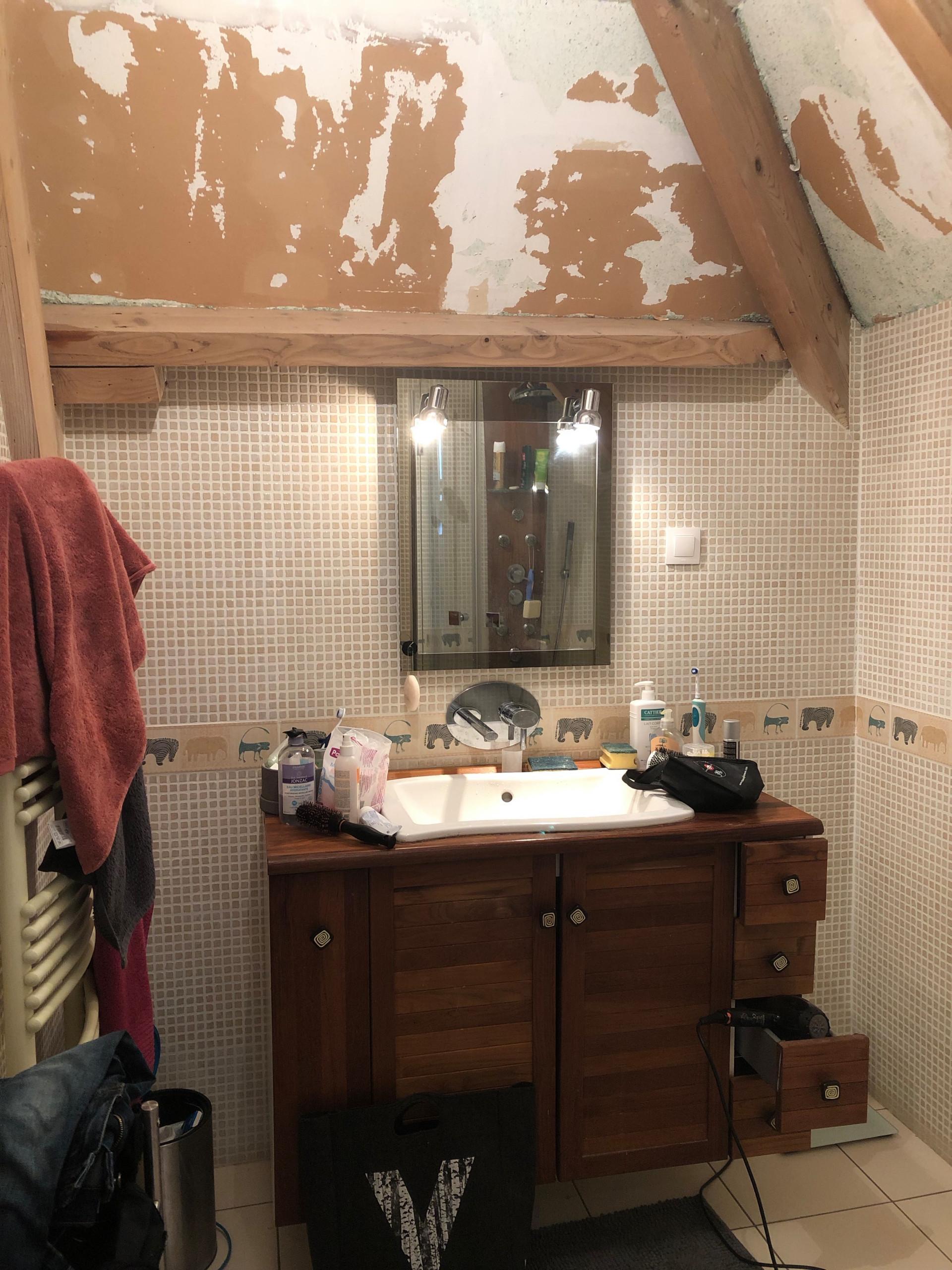 Salle de bain esprit nature