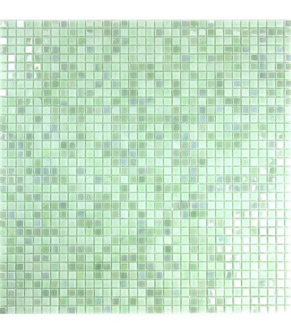 Light Green Gl Mosaic Tile Straight Contemporary