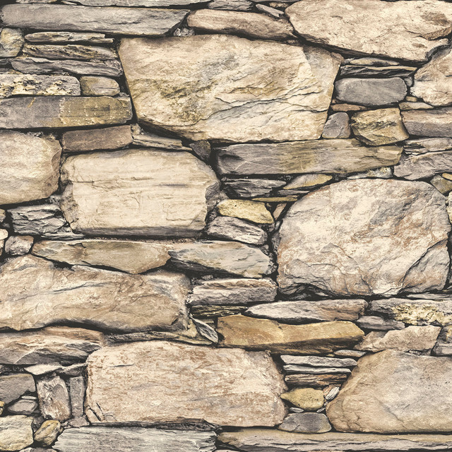 Hadrian Stone Wall Peel And Stick Wallpaper Bolt Modern Wallpaper