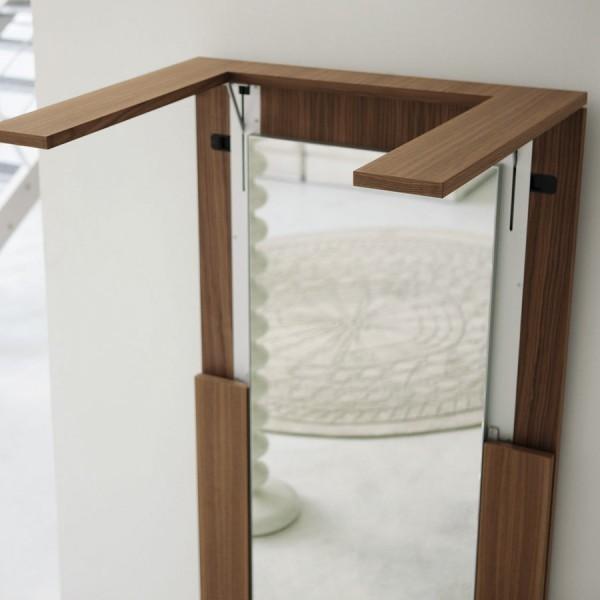 Porada - Tip Over Mirror Table