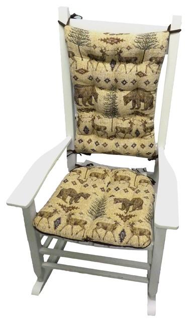Rocking Chair Cushions Latex Foam Fill