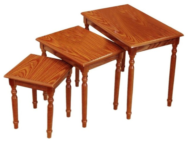 Megaware Inc Set Of 3 Nesting Tables View In Your Room Houzz