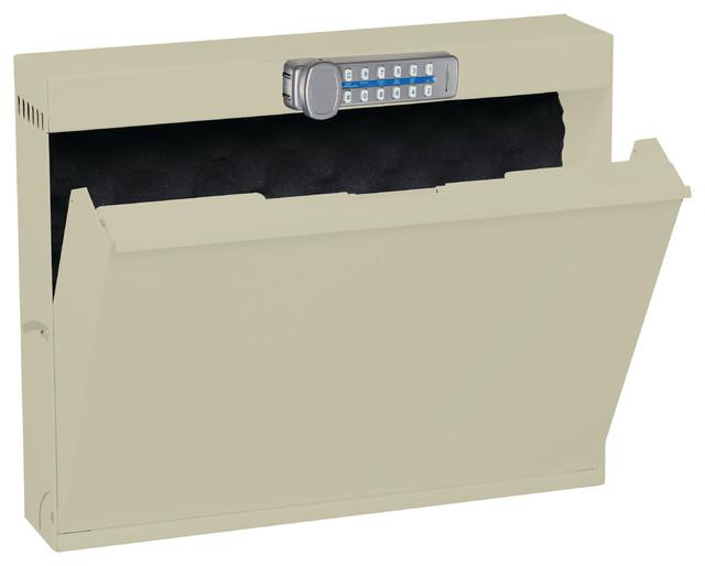 Laptop Locker With Digital Lock, No Charging Capabilities, Bone White ...