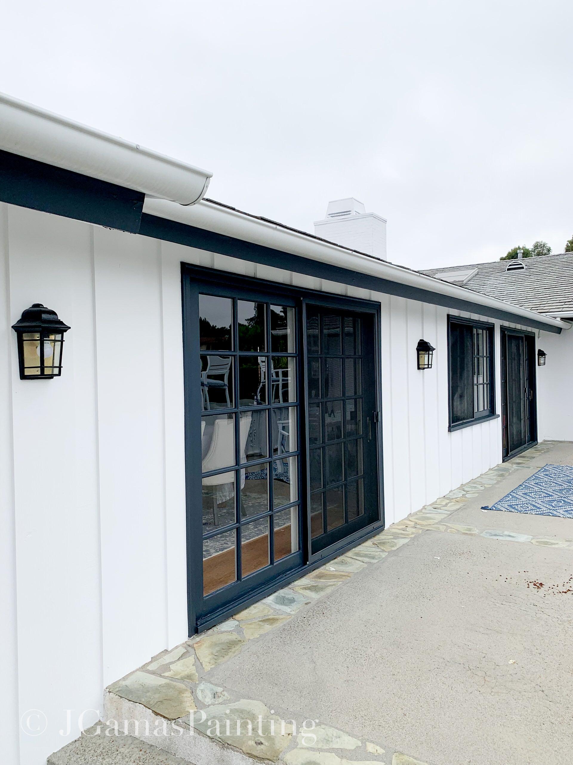 Black and White Home- Rancho Palos Verdes