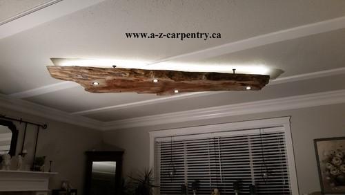 living edge lighting. with ledu0027s and strip lighting hang up four timber screws 10 mm x 280 living edge m
